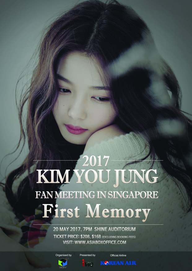 Official Poster_Kim You Jung First Memory in Singapore (1)