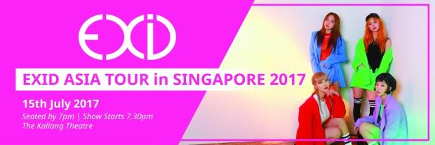 Exid Asia Tour Fanmeet 2017 - Singapore