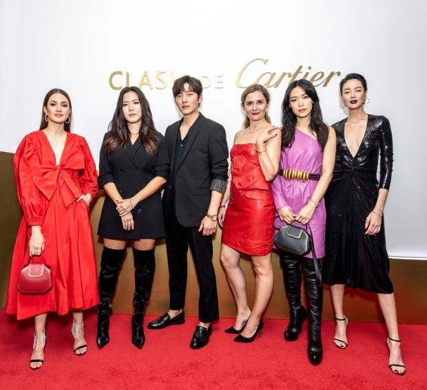 Nur Fazura, Rui En, Ji Chang-Wook, Regional Managing Director SEA & Oceania, Cecile Naour, Rebecca Lim, Sheila Sim.jpg